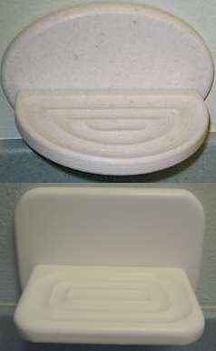 Corian Surface Mounted Soap Dish