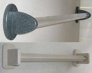 Corian Towel Bar