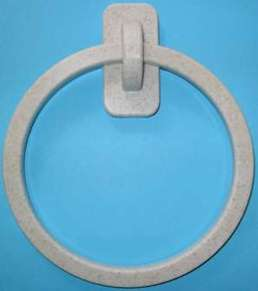 Corian Towel Ring