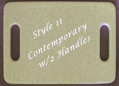 Style 11 - Contemporary w/2 Handles